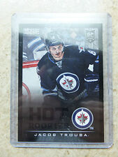 13-14 Panini Score Hot Rookies RC #698 Black Ice Border SSP JACOB TROUBA