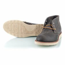 Red Wing Shoes 3150 Chukka Boot Charcoal Rough&Tough