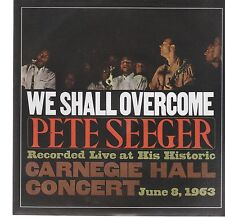"PETE SEEGER WE SHALL OVERCOME / GUANTANAMERA 7"" 45 GIRI"