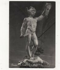 Firenze Il Perseo B Cellini RP Postcard Italy 560a