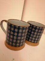 Studio Pottery Pair Of Mugs/ Pottery Mugs