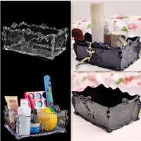 Makeup Holder Jewelry Organizer Acrylic Insert Drawer Cosmetic Case Storage Box