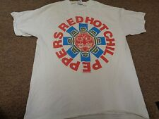 RARE VTG RED HOT CHILI PEPPERS T-SHIRT XL MEN 1991 90S WORLD TOUR ROCK USA