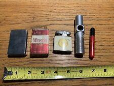Vintage Lighter Lot of 5 Cigarette Lighters
