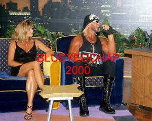 MISS ELIZABETH & HULK HOGAN WRESTLER 8 X 10 WRESTLING PHOTO WWF WCW