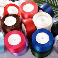 25YD Satin Ribbon 38mm Multi Craft Wedding Supplies Flower Fabric Party AU