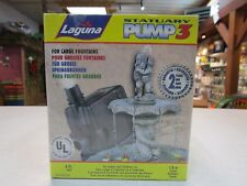 Laguna Statuary Pump #3 large fountains, hydroponics, new (384 gph)