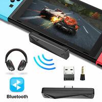 For Nintendo Switch/Lite PS4 USB Bluetooth 3.5mm HIFI Audio Transmitter Adapter