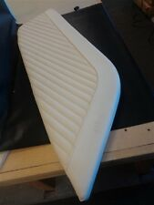 "MAKO 284 PT AFT BOW CUSHION / SEAT SKIN OFF WHITE 58"" X 18 3/4"" MARINE BOAT"