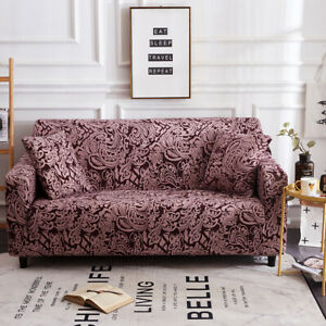 Elastic Sofa Couch Furniture Cover Slipcover Stretch Floral Couch 1 2 3 4 Seater