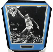 Kareem Abdul Jabbar Hand Signed 16x20 Photo Framed UCLA Bruins Lakers w/ COA