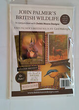 Debbi Moore Designs con John Palmers British Wildlife Card Making Kit