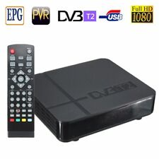 HD 1080P 3D K2 DVB-T2 Digital Video Terrestrial PVR Receiver STB TV Box + Remote