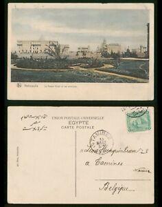 Mayfairstamps Egypt 1900s to Belgium Heliopolis Picture Postcard wwp81583