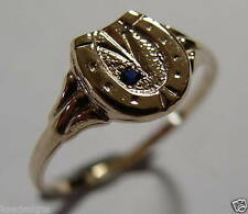 Sapphire Yellow Gold Fine Rings