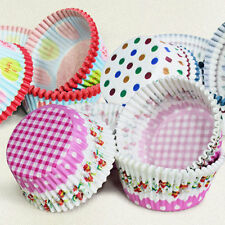 100pcs Mini Paper Cake Cup Chocolate Liners Baking Cupcake Cases Muffin Cake Cup