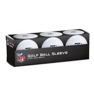 Seattle Seahawks Golf Balls 3 Pack