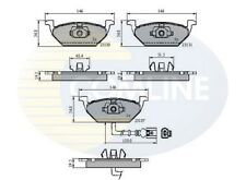 Comline Front Brake Pad Set CBP1851  - BRAND NEW - GENUINE - 5 YEAR WARRANTY