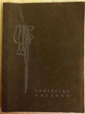1941 Christian College, Columbia MO.  Ladies Equestrian Club Publication