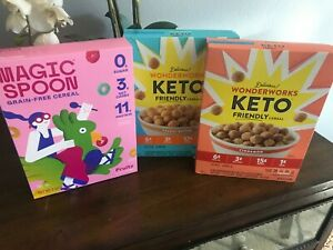 3 BOXES OF Keto Cereal - Low Carb~Healthy