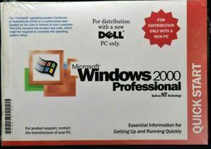 Microsoft Windows 2000 Professional WK2 SP2 Reinstallation CD for DELL
