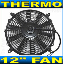 """12"""" RADIATOR FAN THERMO FAN ELECTRIC COOLING FAN PUSH PULL REVERSIBLE 12 INCH"""