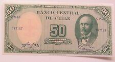 Chile 5 Centesimos on 50 Pesos  (1960); UNC