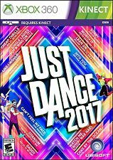 XBOX 360 JUST DANCE 2017 BRAND NEW VIDEO GAME