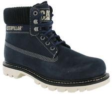 Botas de hombre botines de piel color principal azul
