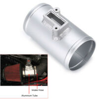 "Universal Car 76mm 3"" Air Intake Flow Sensor Mount Connector Adapter Aluminium"