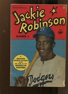 JACKIE ROBINSON #2 (4.0) BROOKLYN DODGERS! 1950