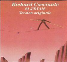 Richard Cocciante, R - Si J'etais (Version Originale) [New CD] C