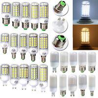1/4/10x E27/E14/G9 5730SMD LED Glühbirne Birne Mais Lampe Leuchtmittel 4,5W-18W