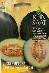 Zuckermelone Tentral negro tardio Samen - Bio Austria - aus biologischem Anbau