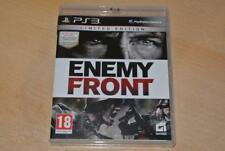 Enemy Front PS3 Playstation 3 ** FREE UK LIVRAISON **
