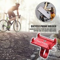 Aluminum MTB Bicycle Phone Holder Adjustable Support Bike GPS Phone Stand Mount