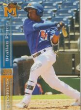 2019 Midland RockHounds Brallan Perez RC Rookie Oakland Athletics