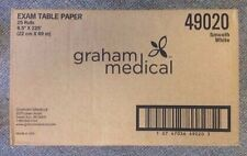 """GRAHAM Chiropractic Headrest 25/cs Table Paper Roll Smooth 8.5""""x225' #49020"""