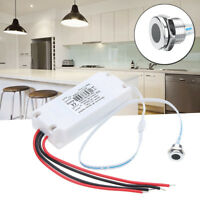 Electronic Touchless IR Motion Sensor LED Light On/Off Switch Kitchen Cabinet