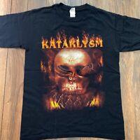 Vintage KATAKLYSM Black Metal Rock Band Tour Promo Album Shirt Concert Music MED