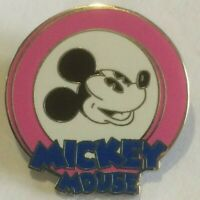 Oh Mickey Mouse  Mystery Pouch PINK Disney  pin V