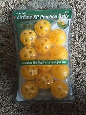 New 12 Pack Golf Day Airflow Xp Solid Practice Balls Tommy Armour Dozen