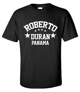Roberto Duran Panama Champion Boxing Gym Training Mens T-Shirt