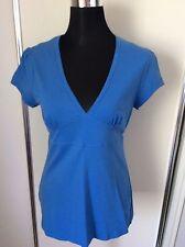 Regular Cotton Blend Clubwear Short Sleeve Women's Tops & Blouses