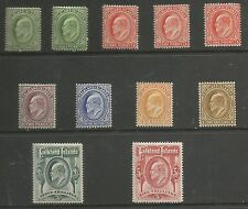 FALKLAND IS SG43-50  THE 1904-12  EVII SET INC SOME SHADES FINE MINT CAT £550