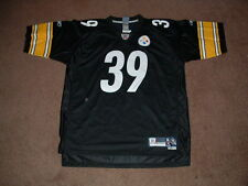 WILLIE PARKER #39 PITTSBURGH STEELERS PREMIER HOME FOOTBALL JERSEY X-LARGE NEW