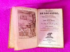 PEDAGOGIA, EL AMIGO DE LOS NIÑOS, ABATE SABATIER, JUAN DE ESCOIQUIZ 1840