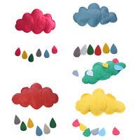 Children Kids Play Tent Decoration Props Toy Raining Clouds Water Drop Boy Gi W5