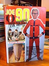 JOE 90 TOP SECRET ANNUAL 1969 GC GERRY ANDERSON