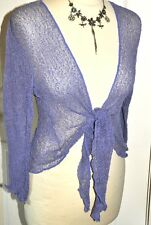 QUALITY bali SHRUG fine knit net mesh wrap GRINGO FAIR TRADE 50 col FAST POST x